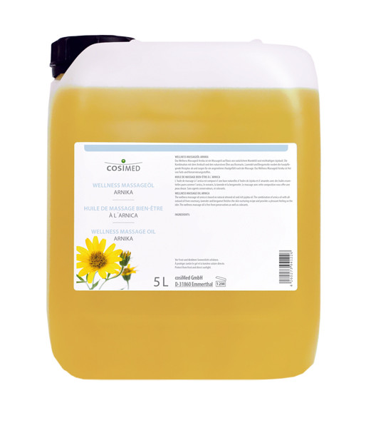 cosiMed Wellness-Massageöl Arnika 5 Liter