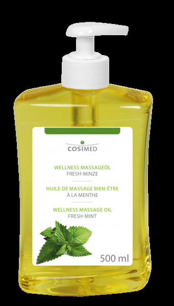 cosiMed Wellness-Massageöl Fresh Minze 500ml Dosierflasche