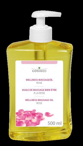cosiMed Wellness-Massageöl Rose 500ml