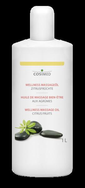 cosiMed Wellness-Massageöl Zitrusfrüchte 1 Liter