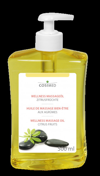 cosiMed Wellness-Massageöl Zitrusfrüchte 500ml