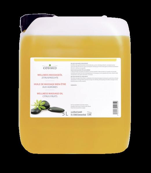 cosiMed Wellness-Massageöl Zitrusfrüchte 5 Liter