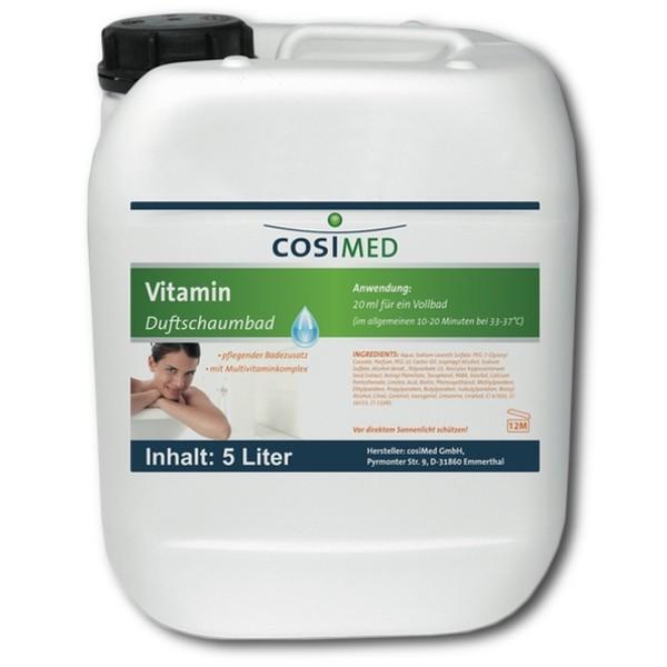 cosimed Vitamin Duft-Schaumbad Badezusatz Konzentrat 5 Liter
