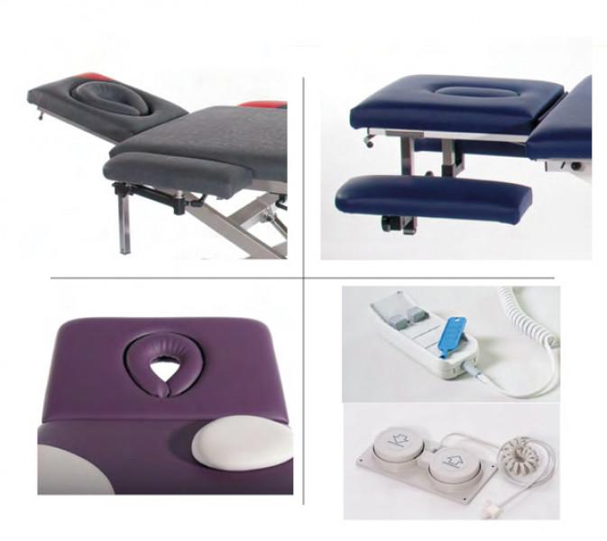 Erweiterung/Zubehör Massageliege Accubo/Select