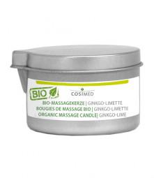 cosiMed Bio-Massagekerze Ginkgo-Limette