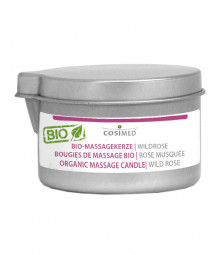 cosiMed Bio-Massagekerze Wildrose