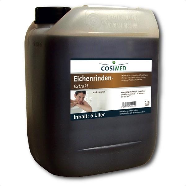 cosiMed Eichenrindenextrakt Badezusatz 5 Liter