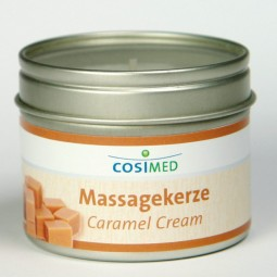 cosiMed Massagekerze Caramel Cream 92g