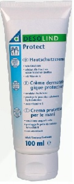 Desolind protect Hautschutzcreme mit Vitamin E, 100 ml Tube