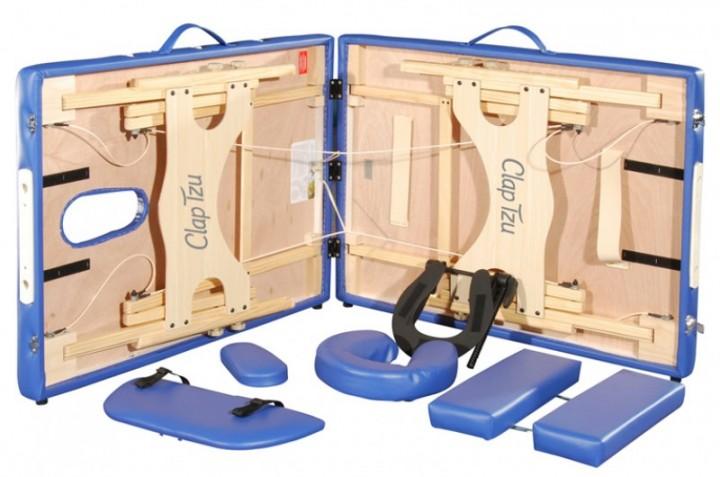 Mobile Massageliege / Massagebank / Therapiebank Clap Tzu Economy Comfort Set