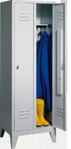 Garderobenschränke S 2000 Classic, einstöckig, Abteilbreite 30 cm