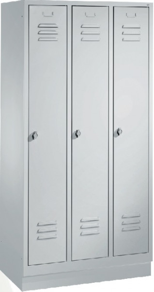 Garderobenschränke S 2000 Classic, einstöckig, Abteilbreite 40 cm