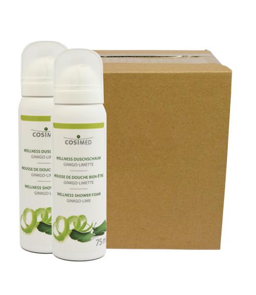cosiMed Wellness-Duschschaum Ginkgo-Limette (12er Karton)