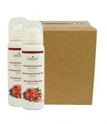 cosiMed Wellness-Duschschaum Granatapfel (12er Karton)