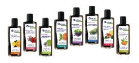 Aroma-Haut- und Massageöl · Acai-Yuzu · vitalisierend · Spitzner · 190 ml Flasche