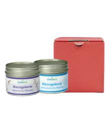 cosiMed Massagekerze im roten Geschenkkarton