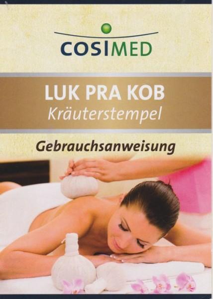 cosiMed Kräuterstempel 150g inkl. Anleitung, 2er Pack