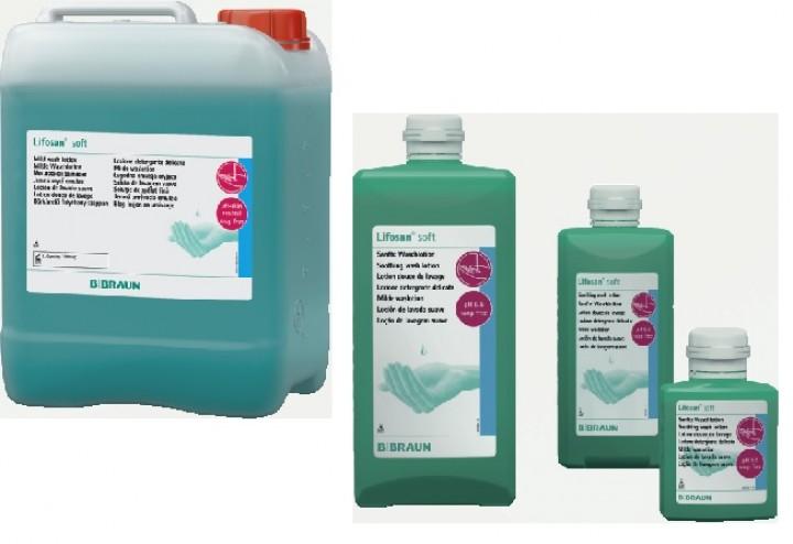 Lifosan - Soft, 500 ml, Waschlotion für normale bis leicht fettige Haut