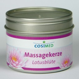 cosiMed Massagekerze Lotusblüte 92g