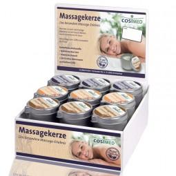 cosiMed Massagekerzen 18 x 40g, 6 Sorten im Display
