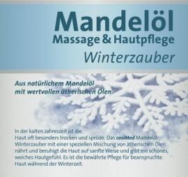 Massageöl für die kalte Jahreszeit: Mandelöl Winterzauber